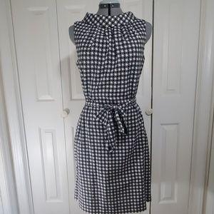 TALBOTS Navy Blue Sleeveless Dress Size 10
